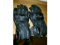 Motorbike gloves brand new max mph leather gloves