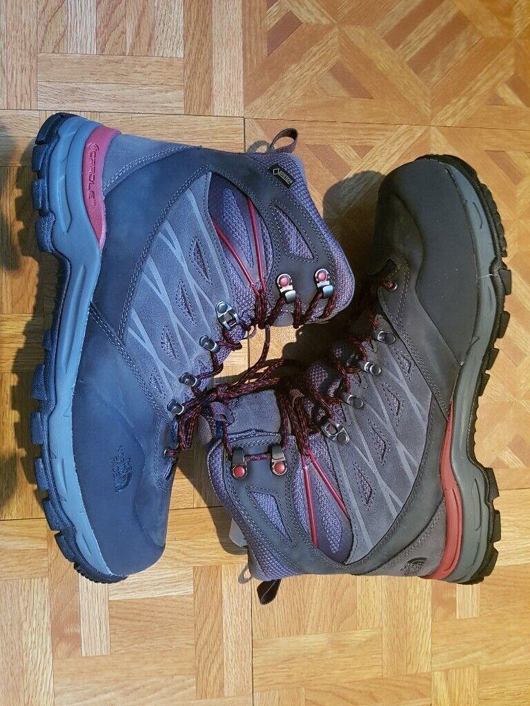 The North Face Men s Hedgehog Trek Gore-Tex GTX High Rise Hiking Boots UK9  NEW 272cdc94ac24