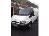 Ford transit 06 plate excellent condition. Still for sale 16/7/17