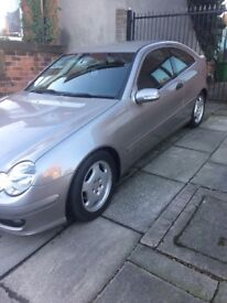 Mercedes Coupe diesel 2008, 90,000 miles selling as I have a job overseas
