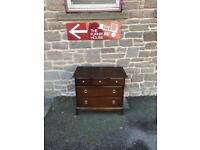 Stag Minstrel 5 drawer chest * free furniture delivery *