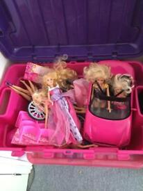Box of Barbies