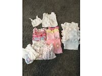 Baby Girl Sleepsuits First Size