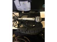 Technics vintage microphone