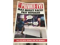 Private Eye magazine 50+ different editions
