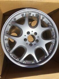 "Original brabus split rim wheels 2x19"" & 2x20"" excellent condition"