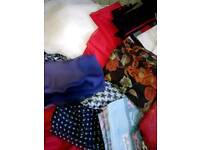Large selection of womenswear scarfs