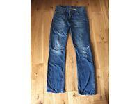 Superdry men's straight leg jeans size W28 L32