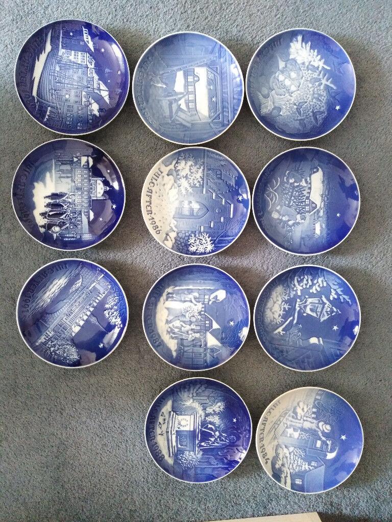 Royal Copenhagen Christmas Plates.Royal Copenhagen Christmas Plates In Hove East Sussex Gumtree