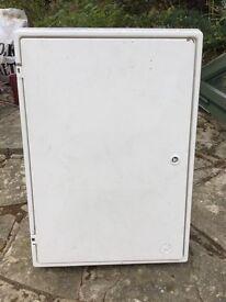 Electric meter box (recessed)