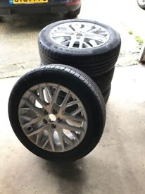 *BRAND NEW* - 16inch Alloy Wheels with Tyres