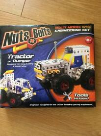 Nuts and bolts toy brand new in packaging