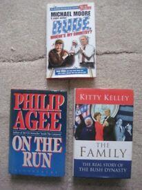 Three Hardback Books on Modern United States of America for just £4.00