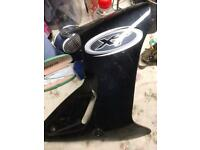 Yamaha xt600e side panel