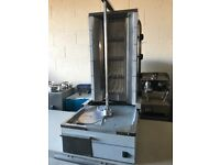 Kebab machine catering resturant hotels pubs cafe equipmets Takeway new job lot equipmets