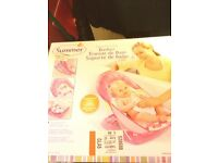 Summer pink infant bath seat