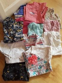 girls age 3-4 clothing bundle tops leggings ect take a look