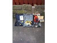 Soldering gun jigsaw router and socket et