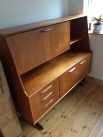Vintage teak sideboard/drinks cabinet