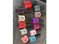 Range of CND nail polish