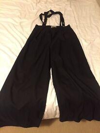 Collectif Glenda Swing Trousers Size 14 L