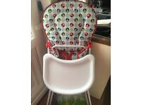 Mickey mouse highchair