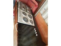 Electric and gas hob