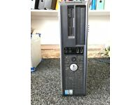DELL Monitor, DELL OPTIPLEX GX620, With Windows XP Professional Disk, 3GHz