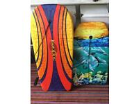 2 x bodyboards