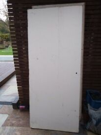 FREE Fire door white internal