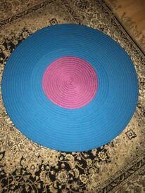 Kids round rug (mat)