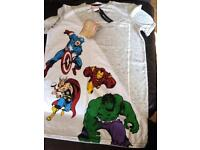 T-shirt Marvel characters New still with label Size 11-12