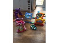 Little tikes obstacle course and vtech walker