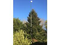 50ft / 15m telescopic mast
