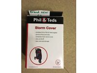 BRAND NEW Phil & Ted buggy rain cover