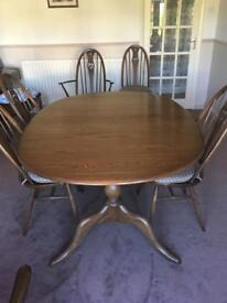 Ercol Double Pedestal table