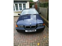 BMW316 SUPERB CONDITION FOR AGE MoT THROUGH TO 03/18 READY TO DRIVE AWAY, PERSONAL PLATE INCLUDED