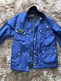 Barber Jacket (M) Blue