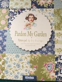 "Hobby Tilda ""Pardon MyGarden "" Paper Pack"