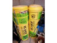 2 x rolls of isover insulation