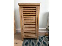 Bathroom wooden floor cabinet