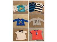 Boys tops 3-6 months bundle