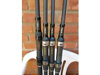 Nash scope fishing rods