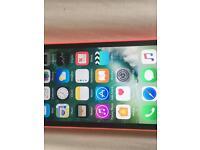 iPhone 5c 8gb pink on 02