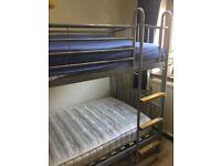 Bunk beds, metal frame