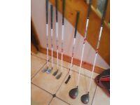 Wilson Deep Red Junior Golf Club Set