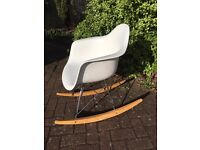 beautiful contempory style rocking chair - as new