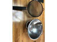 Strainer sieve kitchen utensil
