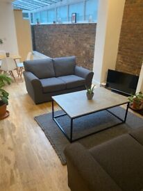 Two excellent like new grey Next sofas
