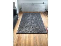 Large grey rug from next